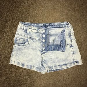 High waisted shorts from Delia's